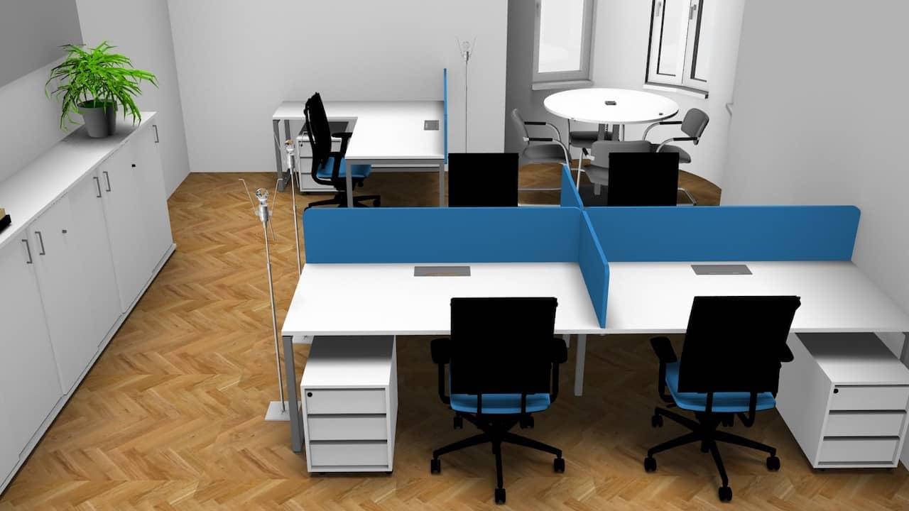 Vertrauen Sie auf ein Bürokonzept von Italoffice