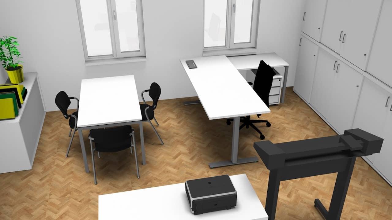 Wir erstellen ein Bürokonzept für jeden Arbeitsplatz